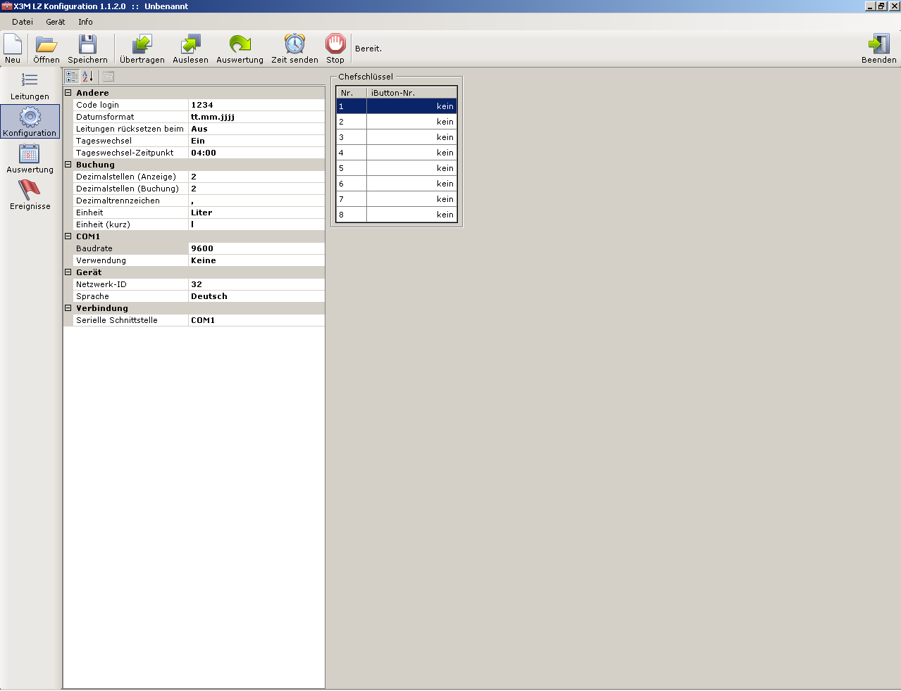 BeerCounter Software Screenshot