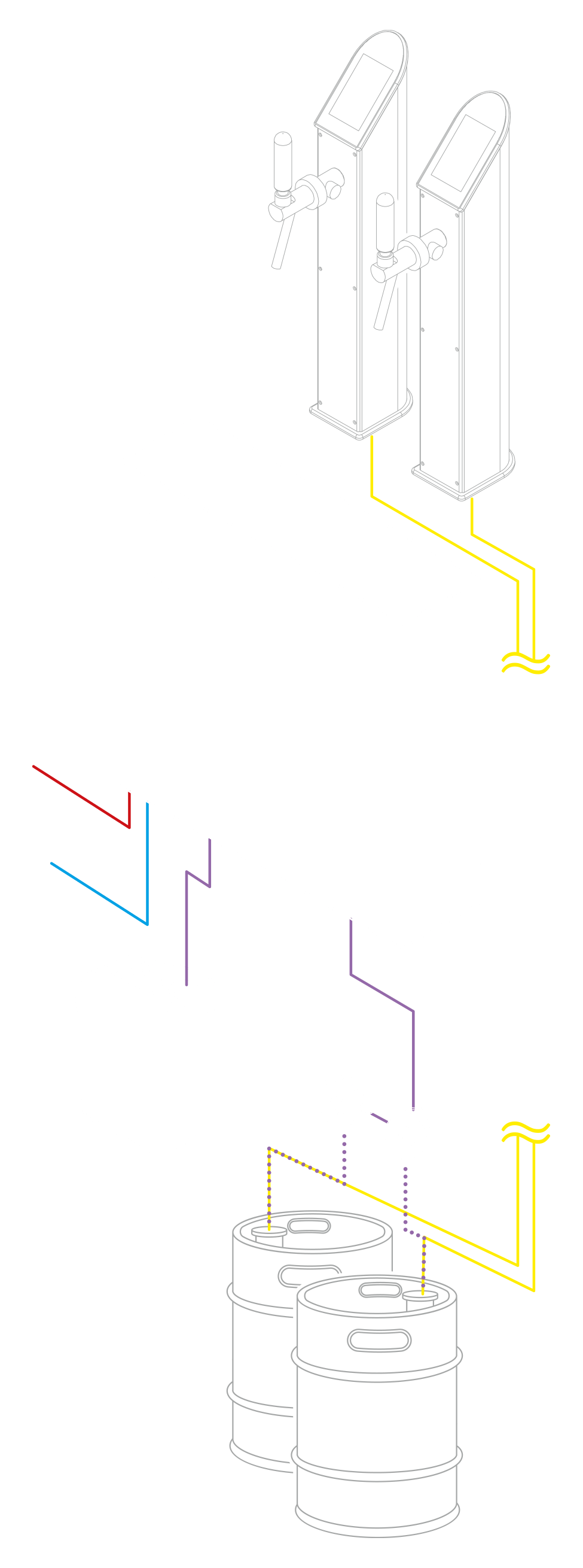 SILEXA LineCleaner Technical Drawing